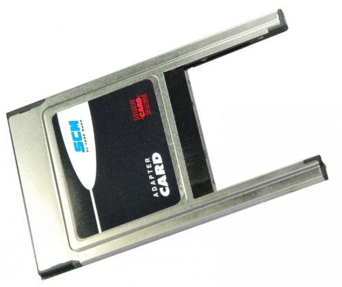 ADP-CF Type II - PCMCIA CompactFlash Adapter Type II -