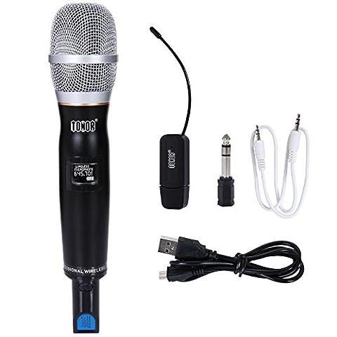 Microphone Sans Fil UHF Système Micros à Main Professionnel avec