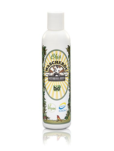 Chia wasc Feux – Bio, vegan 100% naturelle & MOUSSE Idéal pour les cheveux naturels sans Lavage – Produits de soins cheveux Boîte pour plus de force, Brillance et Volume – 200 ml des jambes & Bosch