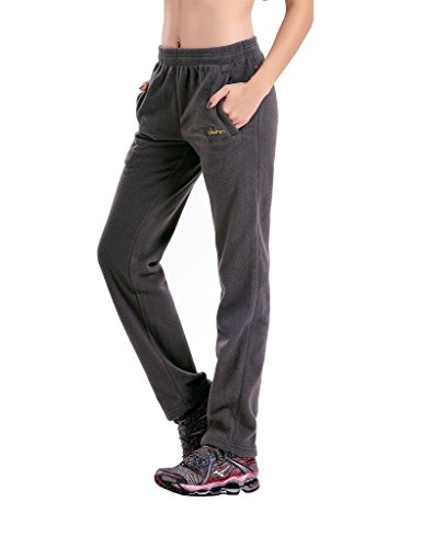 Clothin Herren Polar Fleece Thermal Jogginghose US L Frauen Grau Promo -