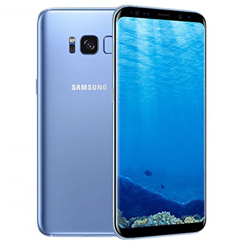 Samsung Galaxy S8 64GB 5.8 12MP SIM-Free Smartphone in Coral Blue Img 2 Zoom