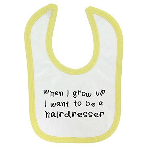 when-i-grow-up-hairdresser-design-baby-bib-yellow-contrast-trim-and-black-print