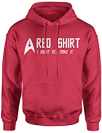Red Shirt Funny Star Trek Inspired Men Top - Hoodie