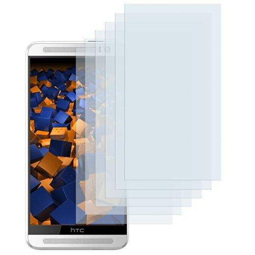 mumbi Schutzfolie kompatibel mit HTC One M8 / M8s Folie klar, Bildschirmschutzfolie (6x)