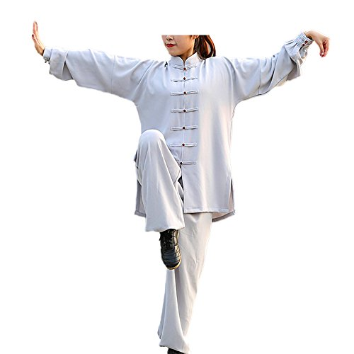 Kung Fu oder Wushu ZooBoo Damenanzug f/ür Kampfk/ünste wie Tai Chi