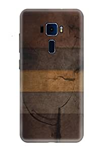 CareFone Designer Printed Back Case For Asus Zenfone 3 Laser
