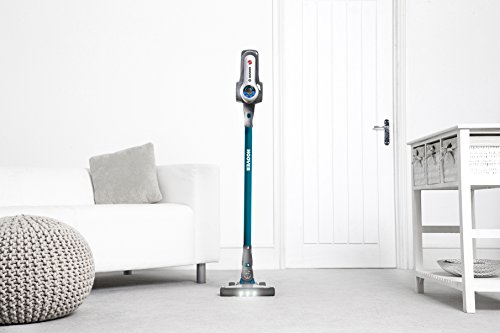 Hoover DS22PTGC Discovery Pets Lithium 2 in 1 Cordless Stick Vacuum Cleaner, 0.7 Litre, Turquoise