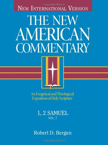 NEW AMERICAN COMM VOL.7  1&2 SAMUEL (The new American commentary)