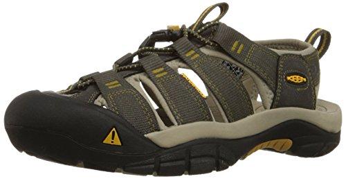Keen Newport H2 - Sandali da Arrampicata Uomo, Marrone (Raven/Aluminum), 42 EU