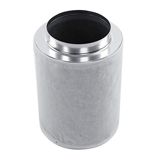 Filtro de Carbono, Extractor de Filtro de carbón Activo, 8 Pulgadas filtros de carbón antiolor para el Cultivo hidropónico, Equipo de ventilación para hidroponía