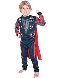 The First Avenger - Lizenziertes Thor-Kostüm für Kinder/Jungen - Größe M