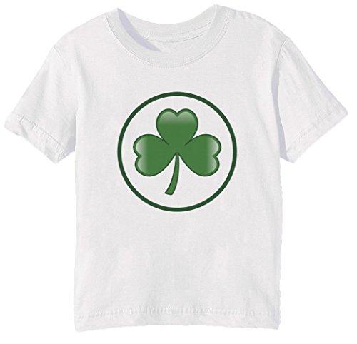 St Patrick Tag Kinder Unisex Jungen Mädchen T-Shirt Rundhals Weiß Kurzarm Größe M Kids Boys Girls White Medium Size M