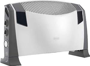 De'Longhi HCS2550FTS Hi-Fi Convettore Elettrico Portatile, Colore Grigio e Bianco