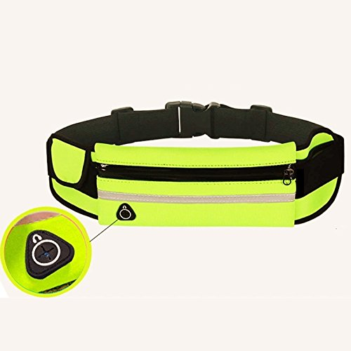 Outdoor Sports kattle, multifunktional Running belt-fanny Pack Taille Tasche, Grün