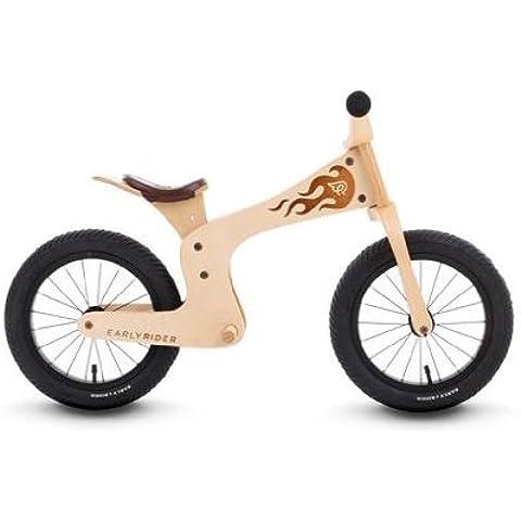 Streetsurfing Early Rider Evolution 1220 - Bicicleta infantil de aprendizaje (altura del cuadro 35,56 cm, diámetro de las ruedas 14
