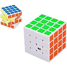 DSstyles MoYu AoLong Cubo de Rubik 4x4x4 Rompecabezas Speed cube para Adultos Niños