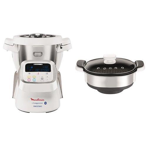 Moulinex HF9001 i-Companion Robot Multifunzione da Cucina, Connesso alla sua...