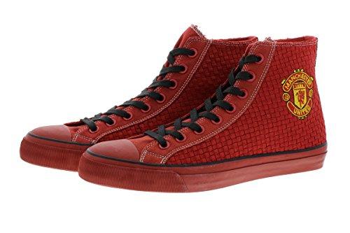 Manchester United 2016/17 Edition CLIFF D115 Herren Sneaker Schuhe Manu Leder Halbschuh Fan Sneakers camouflage (44) -