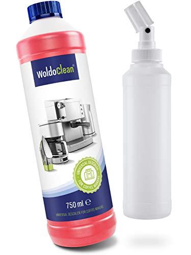 Kalkreiniger-Spray entfernt Kalkablagerungen Badreiniger Sanitärreiniger - vielseitig einsetzbar im Haushalt 750ml inkl Sprayflasche
