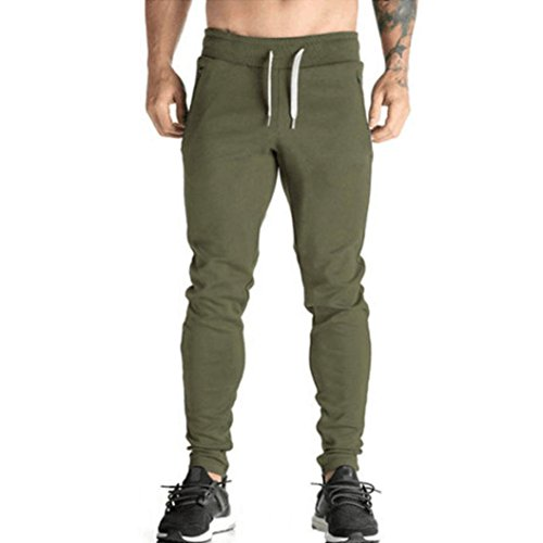 ??Amlaiworld Herren Herbst Band Hohe Taille Pants Sport Kordelzug frühling Hosen Elegant lang Leggings Mode Yoga männer Jogginghose Outdoor Fitness Freizeithosen -