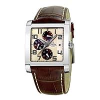 FESTINA Sport 16235/B - Reloj unisex de cuarzo, correa de piel color marrón de Festina