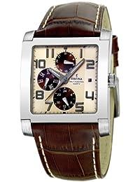 FESTINA Sport 16235/B - Reloj unisex de cuarzo, correa de piel color marrón