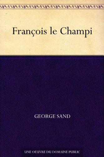 Couverture du livre François le Champi