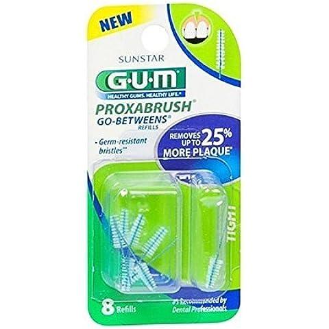 GUM Go-Betweens Proxabrush Tight Refills - 8 ct by Butler