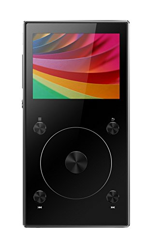 dsd player FiiO X3 Mark III portabler High Definition Audio und MP3 Player - 192Khz/32Bit - Bluetooth 4.1 - Tochwheel zur Navigation