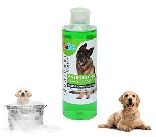 Shampoo antiforfora principio attivo zinco piritione e pantenolo 200ml IO&TE azione purificante. MWS