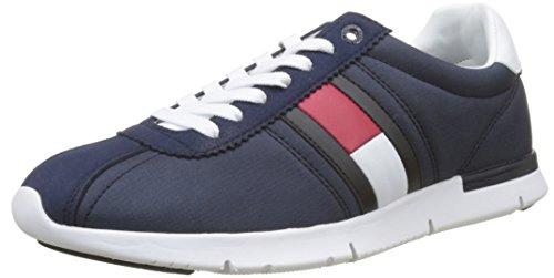 Tommy Hilfiger Herren Retro Lightweight Sneaker, Blau (Tommy Navy 406), 43 EU