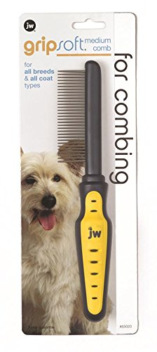 Artikelbild: JW Gripsoft Medium Grooming Comb for Dogs