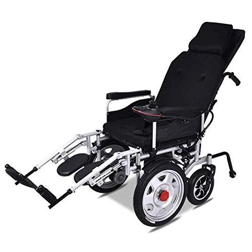 Älterer Behinderter Elektrischer Rollstuhl Kohlenstoffstahl Material Intelligentes Falten Leistungsstarker, Sicherer, Geräuschloser Motor Elektromagnetisches Fahrzeugsystem Langlebiger Rollstuhl für -
