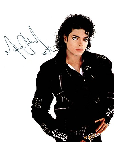 FRAME SMART Michael Jackson #5   gedrucktes Unterschriftenfoto   10x8 Größe passt 10x8 Zoll Rahmen   Fotoqualität Labordrucker   Fotoanzeige   Geschenk Sammlerstück -