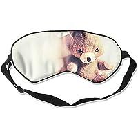 Cute Teddy Bear 99% Eyeshade Blinders Sleeping Eye Patch Eye Mask Blindfold for Travel Insomnia Meditation preisvergleich bei billige-tabletten.eu