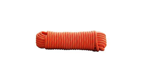 Orange diam/ètre 10mm // 12mm // 14mm // 16mm Corde descalade 20M 15M haute r/ésistance en nylon corde 10M en plein air Explorer Escape corde de sauvetage Ficelles de jardinage corde descalade 30M