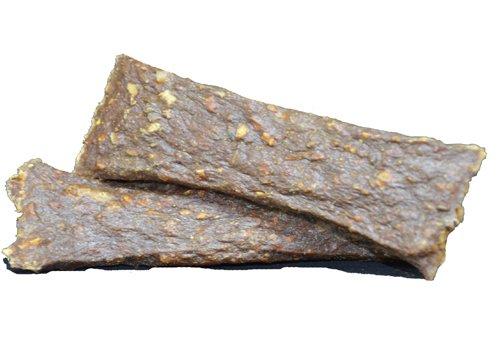 250g Ziegenfleisch getrocknet, der getreidefreie Hunde-Snack für Ihren Vierbeiner. Eine gute Alternative zu Hundekeksen, Hundekuchen, trockenfleisch-Stangen, Dörrfleisch, Rinderohren oder (Hund Wurst Kostüme)