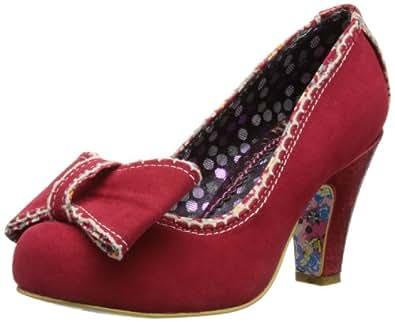 Irregular Choice Womens Summer Freckles Red Court Shoes 3912-14 7.5 UK, 41 EU