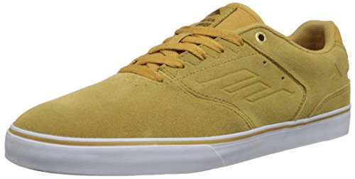 Emerica The Reynolds Low Vulc Herren Skateboardschuhe tan/white/gum