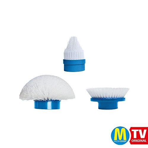 Hurricane Spin Scrubber 3 Stück Ersatzbürsten Putzen Schrubben  | Das Original von Mediashop
