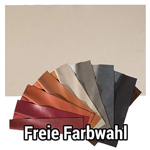 WPW Lederzuschnitt - Lederrest - Lederstück - Bastelleder ca. A4, Farbe frei wählbar