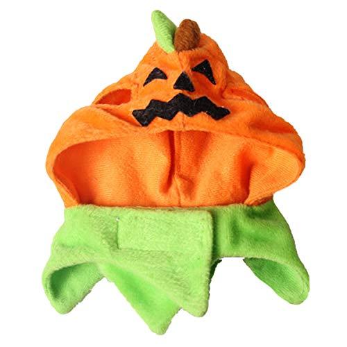 (Migavan Nettes Kürbis-Art-Haustier-Kostüm Kleiden Oben Kappen-Hut Headwear für Welpen-Hunde-Katzen-Halloween-Party-Weihnachtsfeiertag)