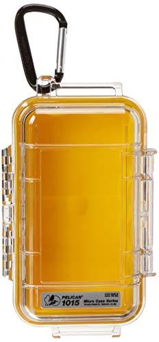 Pelican 1015Micro Case w/Klar Deckel-Gelb 1015 Micro Case