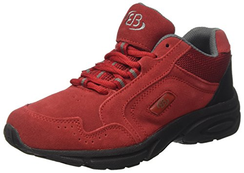 Bruetting Damen Circle Walkingschuhe, (Rot), 41 EU
