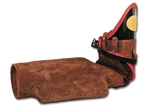 """Manche de protection """"DT TRIAL"""" contre morsures pour l'entraînement avancé de Schutzhund Dean & Tyler - BRAS DROIT - Fabriqué en cuir et matériaux uniquement adaptés aux chien - Qualité exceptionnelle !!! Contactez-nous si vous désirez la manche GAUCHE !"""