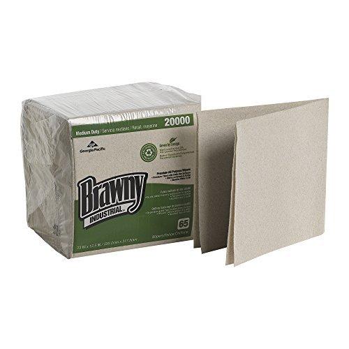 brawny-industrial-20000-oatmeal-medium-duty-epa-compliant-1-4-fold-drc-wiper-125-length-x-13-width-c