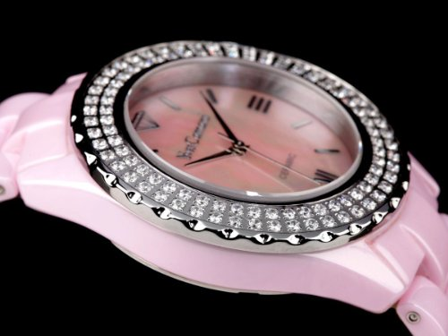 Yves Camani Damen-Armbanduhr Yves Camani Damenuhr Nancy Pink Analog Quarz YC1011-A - 6