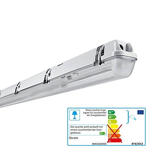 Preisvergleich Produktbild OSRAM LEDVANCE LED Feuchtraumleuchte IP65 inkl Philips LED Tube 2000 Lumen 840 neutralweiß