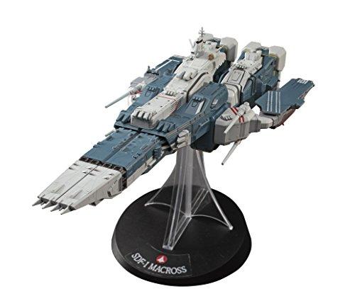 1/4000 SDF-1 Macross fortress ship w / Prometheus and Daedalus by Hasegawa