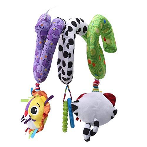 JOOFFF Tierspielzeug zum Umwickeln für Kinderwagen, zum Aufhängen, Spielzeug, Tiere, Spielzeug für Kinder